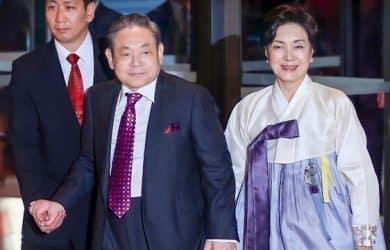 Chủ Tịch tập đoàn Samsung Lee Kun Hee